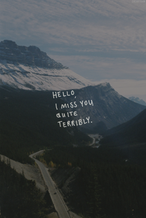 Baby I Miss You Sad Quotes: I Miss You Terribly Pictures, Photos, And Images For