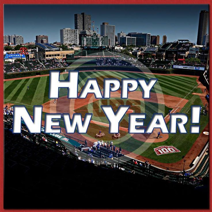cubs wish you happy new years