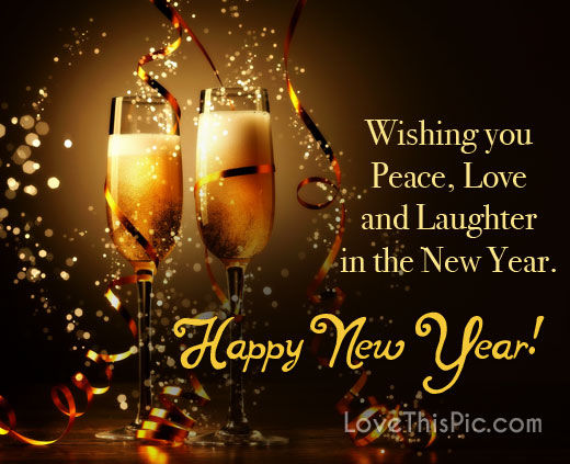 wishing you peace happy new year