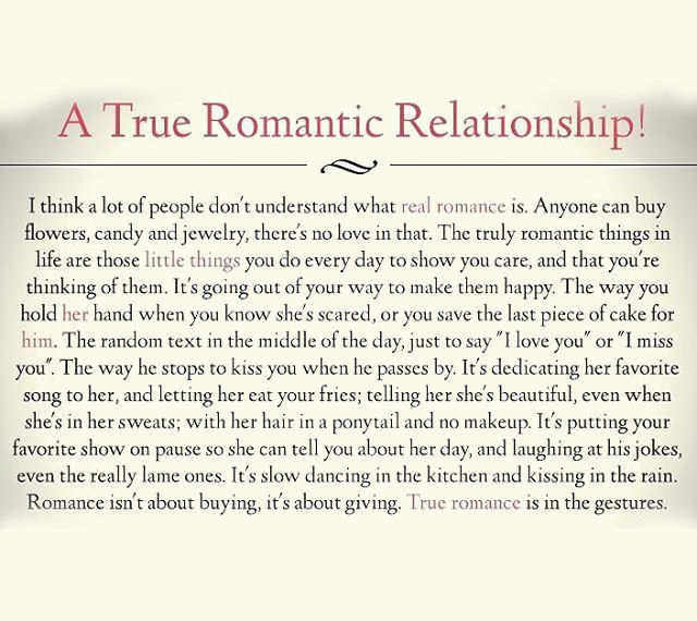 True Love Quotes Romantic: A True Romantic Relationship Pictures, Photos, And Images