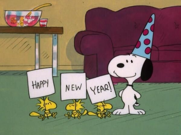 """Image result for new year snoopy"""""""