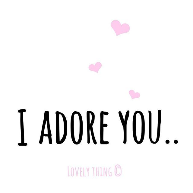 I Love Images With Quotes: I Adore You Pictures, Photos, And Images For Facebook