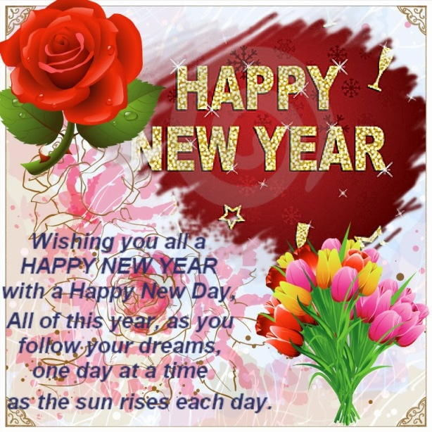 beautiful happy new year wishes