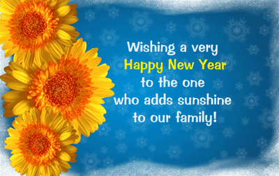 beautiful happy new year quote for family