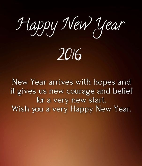 Happy New Years Eve Quote: New Courage In 2016 Pictures, Photos, And Images For