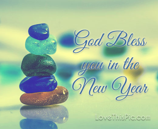 god bless you in the new year
