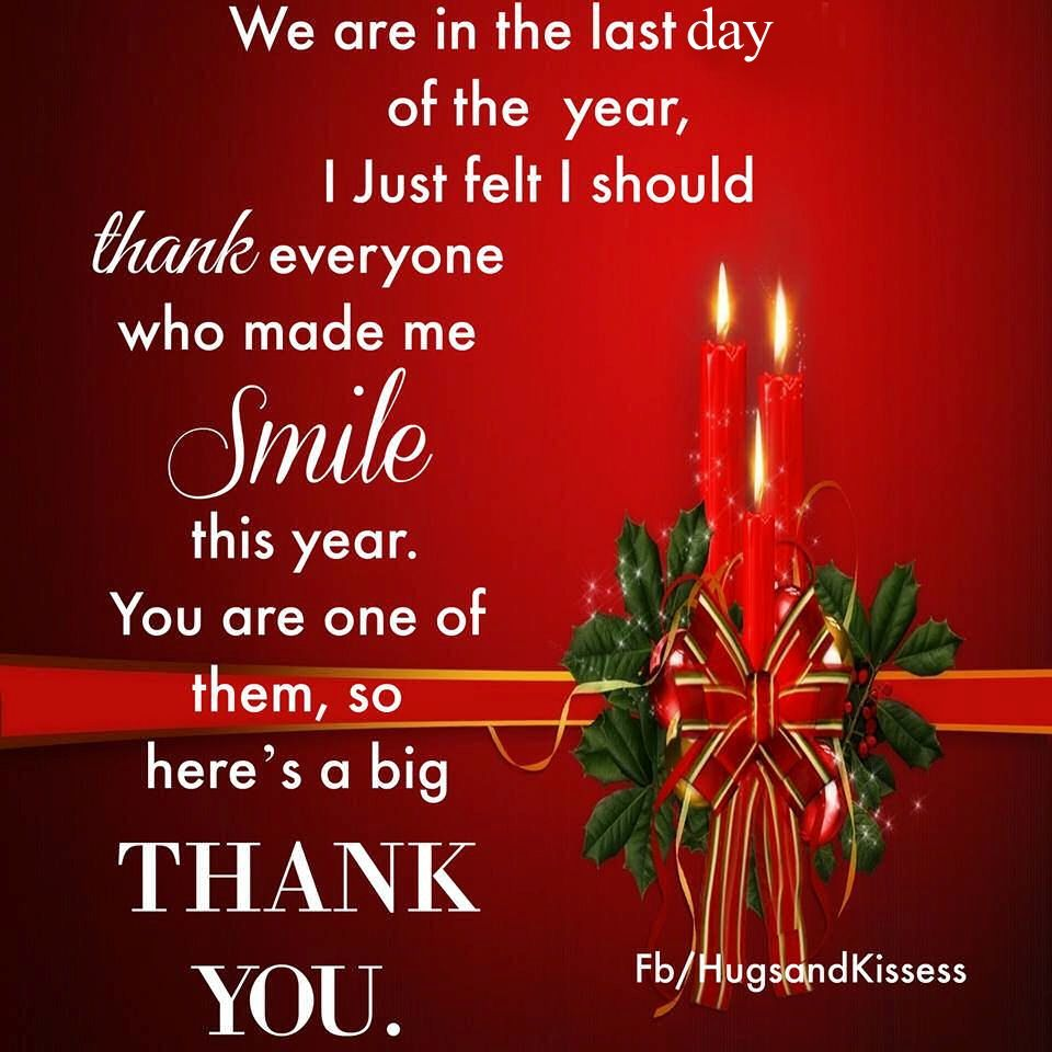 Its the last day of the year thanks to everyone who made me smile its the last day of the year thanks to everyone who made me smile this year m4hsunfo