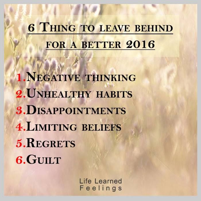 Best Facebook Quotes 2016: 6 Things To Leave Behind For A Better 2016 Pictures
