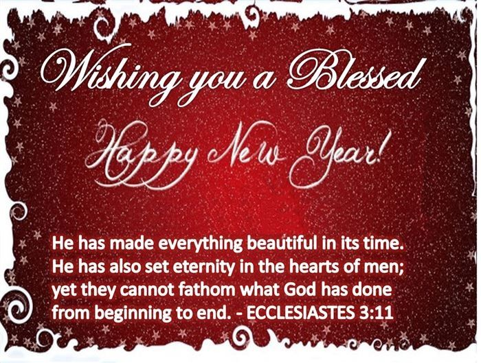 Wishing You A Blessed Happy New Year Pictures Photos And