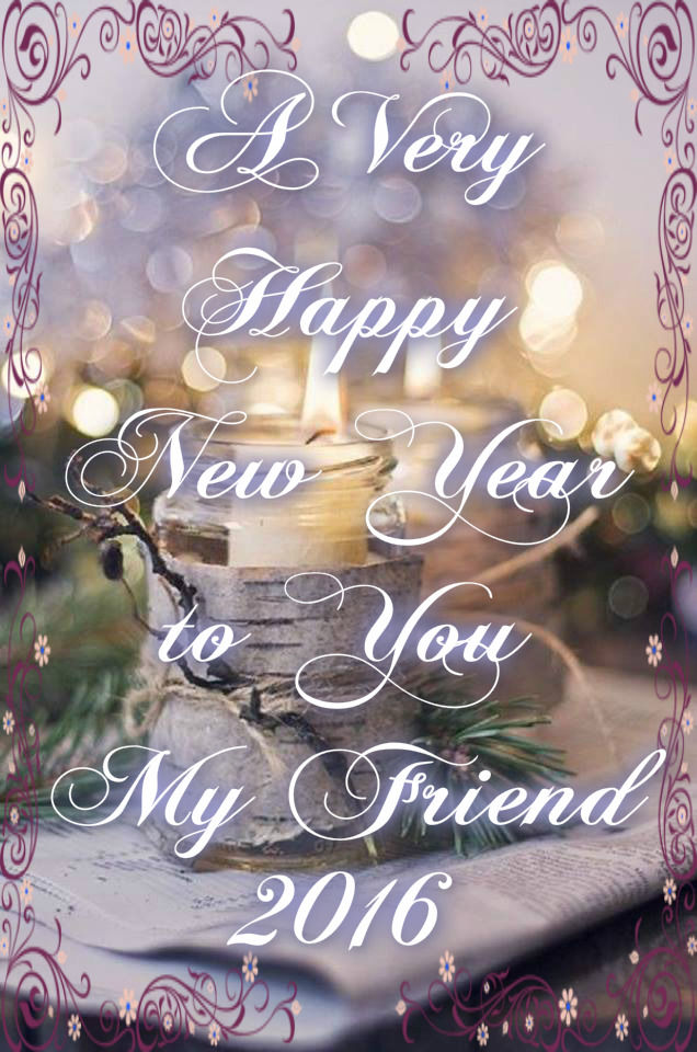 happy new year my friend