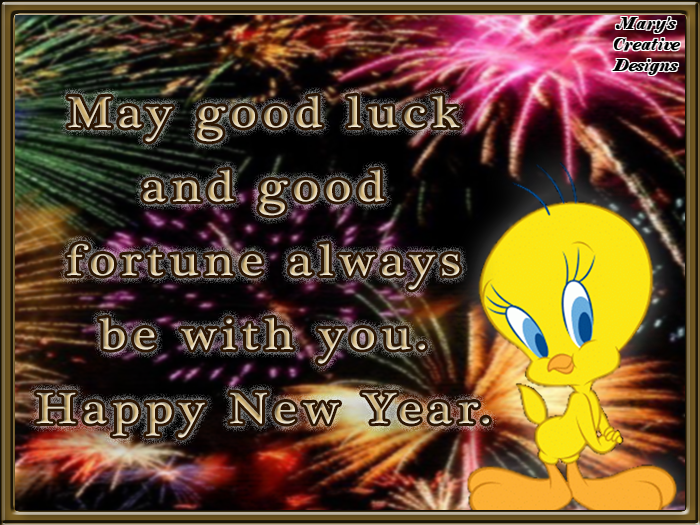 tweety bird happy new year quote
