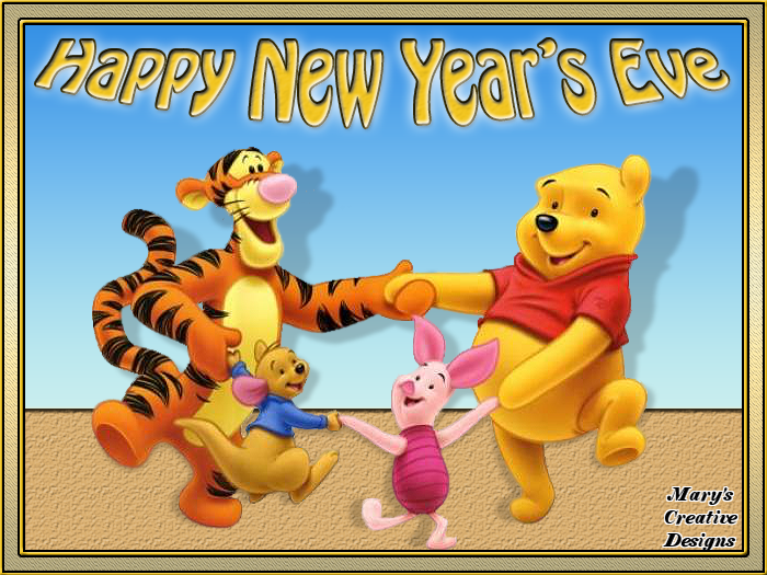 winnie the pooh happy new years eve quote