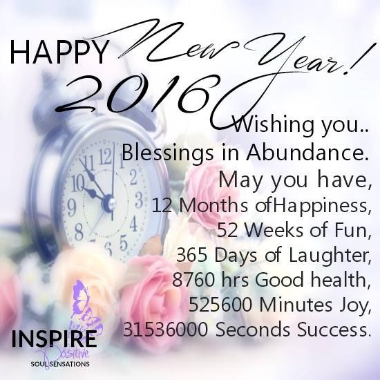 Happy New Year 2016 Wishing You Blessings And Abundance Pictures ...