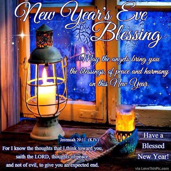 New Years Eve Goodnight Blessings Pictures, Photos, and