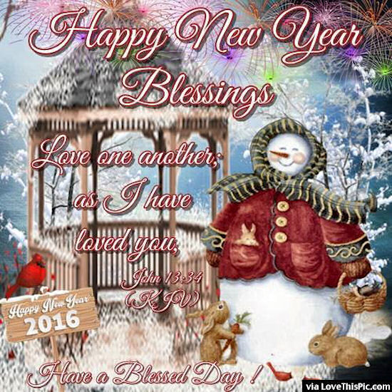 Happy New Year Blessings Pictures Photos And Images For