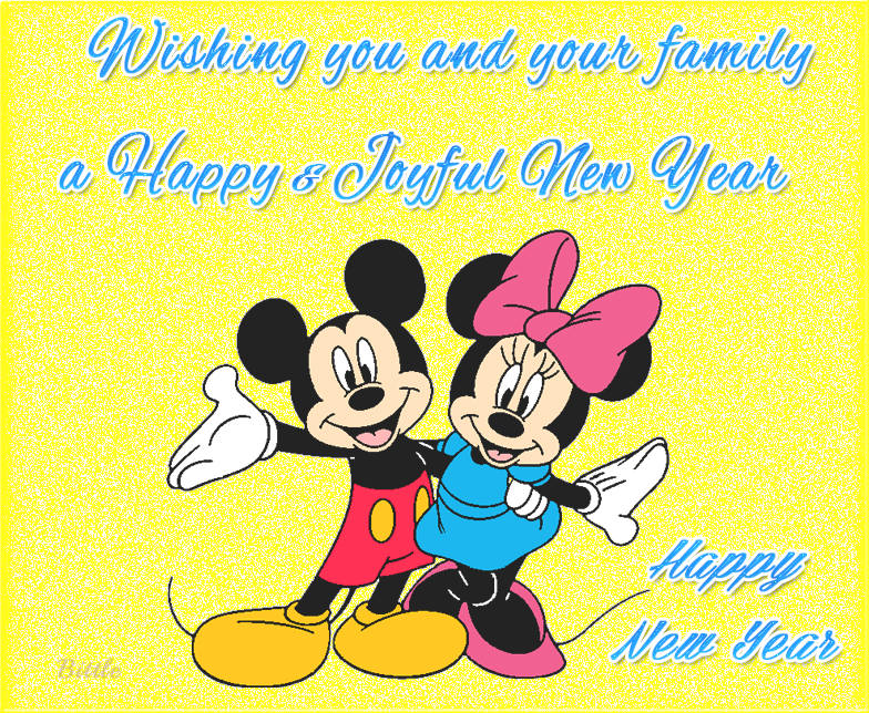 happy new year wish you and your family