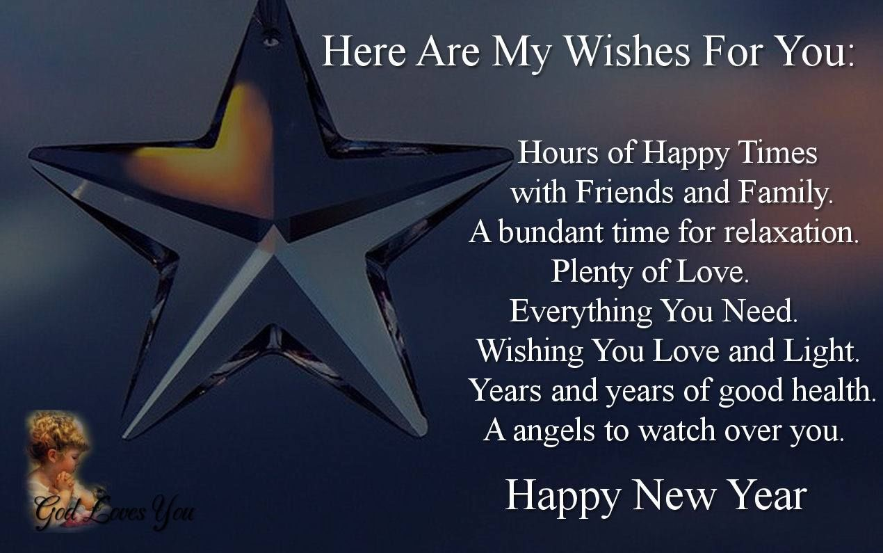 Here Are My New Year Wishes For You Pictures, Photos, And