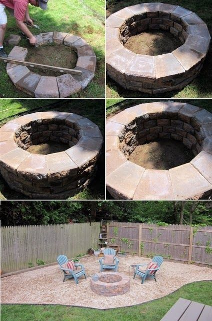 How to build a fire pit pictures photos and images for facebook how to build a fire pit solutioingenieria Gallery