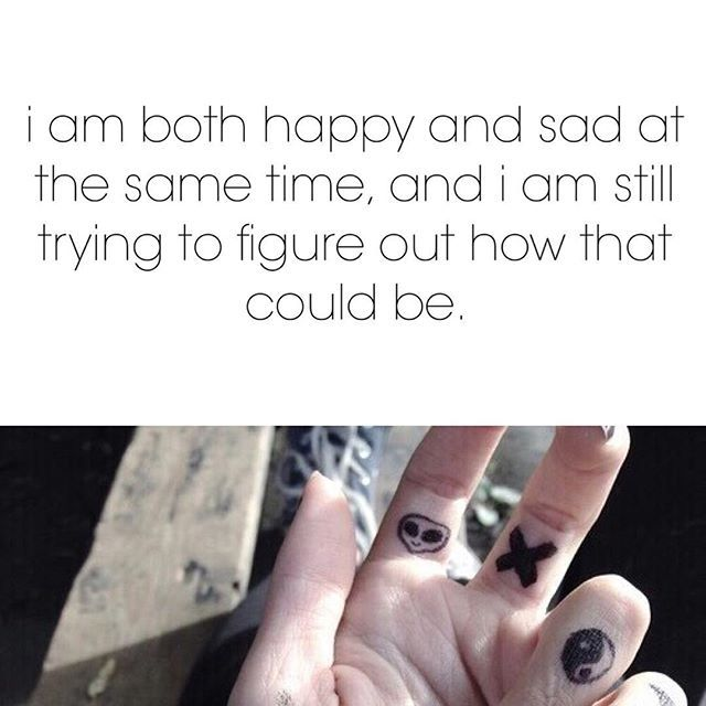 I Am Both Happy And Sad At The Same Time Pictures, Photos