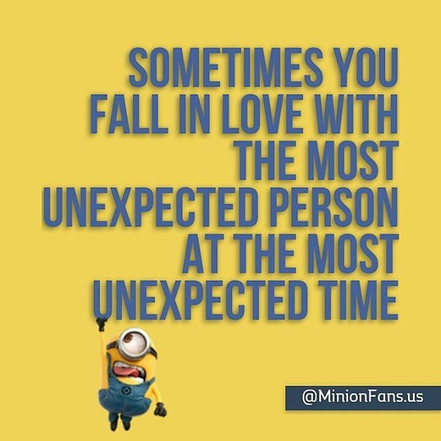 Sometimes You Fall In Love With The Most Unexpected Person