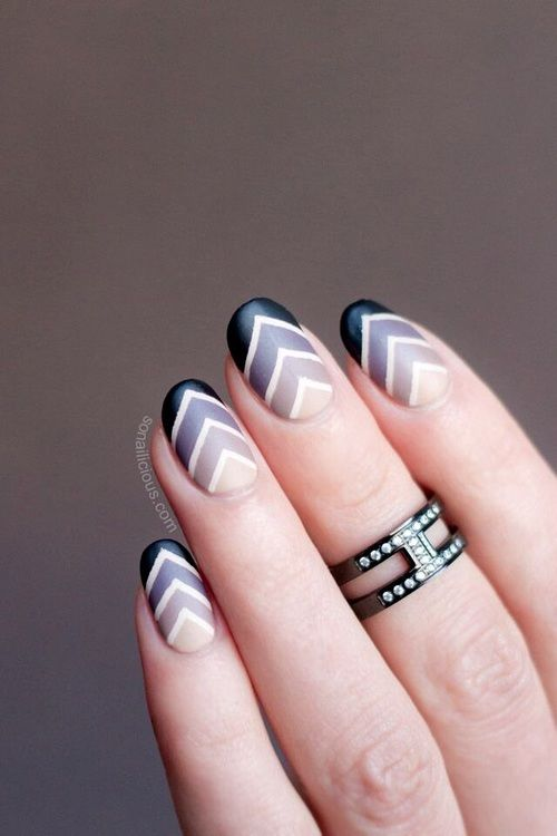 Chevron Nail Art Pictures, Photos, and Images for Facebook, Tumblr ...