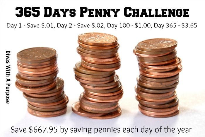 365 Day Penny Challenge Pictures, Photos, and Images for Facebook ...