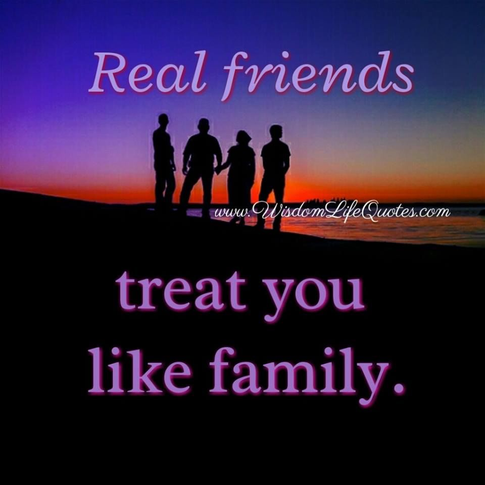 real friends treat you like family pictures photos and images for