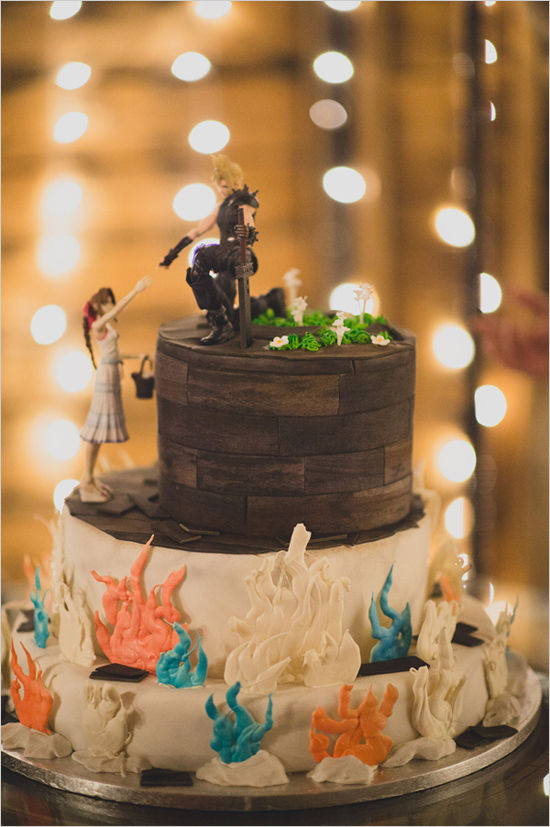 Gamer Wedding Cake Pictures Photos And Images For