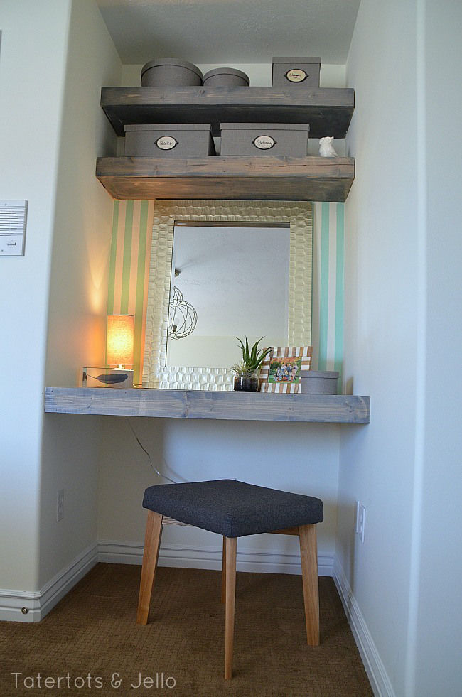 Floating Shelves Nook Workspace Pictures Photos And