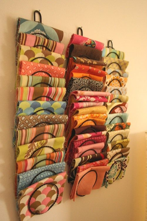Magazine Rack As Fabric Organizer Pictures Photos And