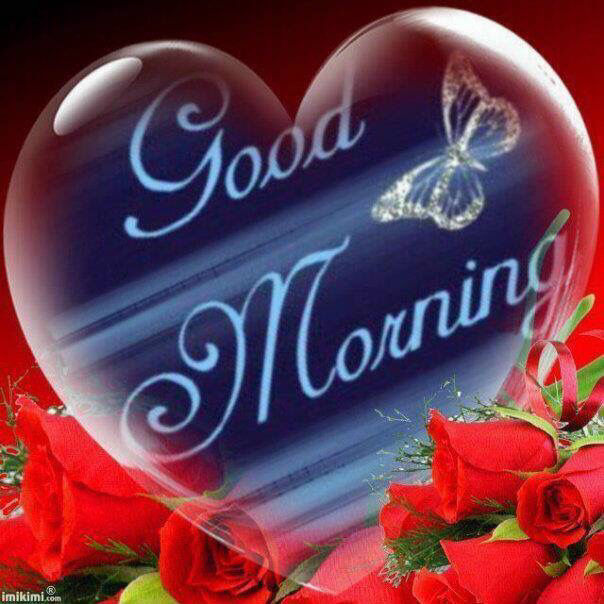 Good Morning Heart And Butterfly Pictures, Photos, And