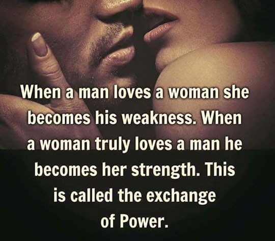 How To Love A Woman Quotes: The Exchange Of Power Pictures, Photos, And Images For