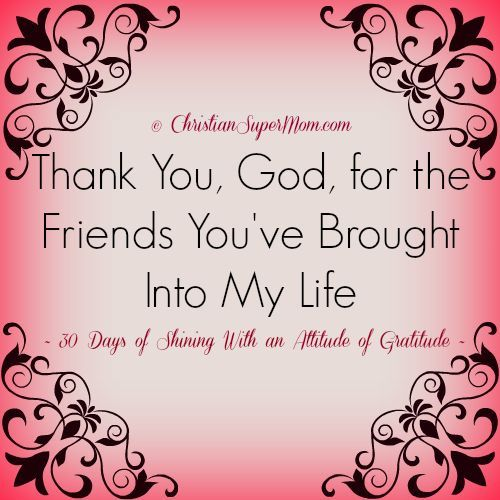 Quotes About Friendship Through God