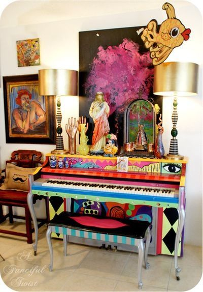 Hand Painted Piano Pictures Photos And Images For