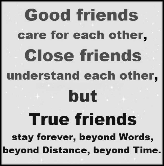 Quotes About Real Friendship Prepossessing True Friends Stand The Test Of Time Pictures Photos And Images