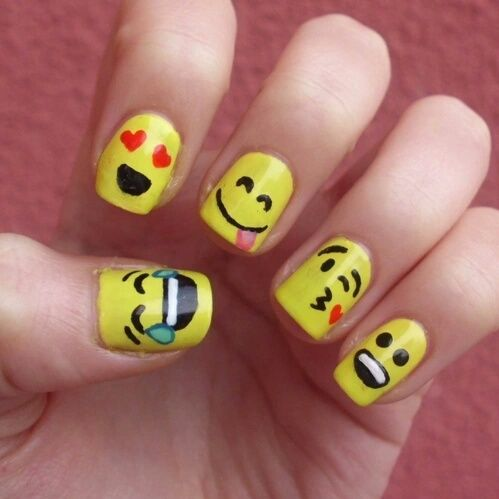 Cool Emoji Nails Pictures Photos And Images For Facebook