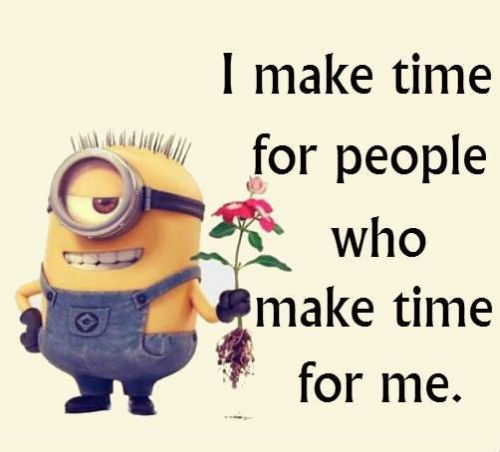 Emo Quotes About Suicide: I Make Time For People Who Make Time For Me Pictures