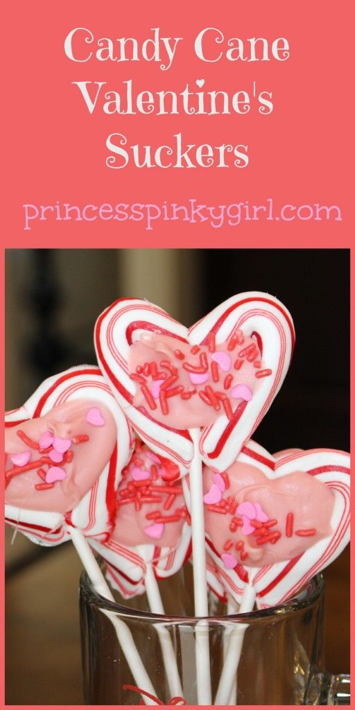 Candy Cane Valentines Suckers Pictures Photos And Images