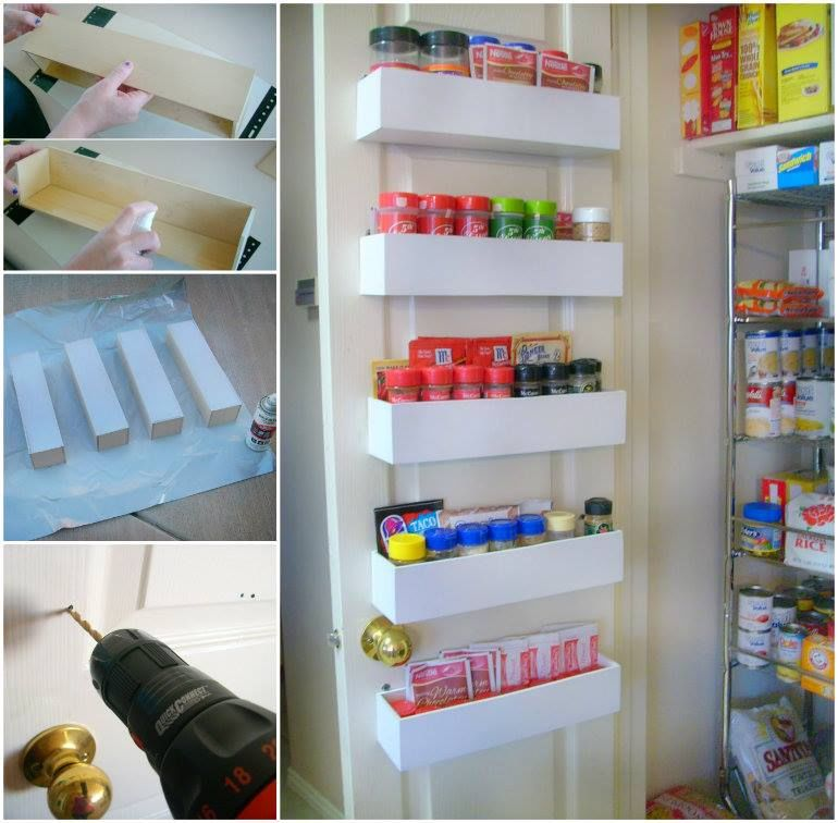 DIY Spice Rack Pantry Pictures, Photos, And Images For