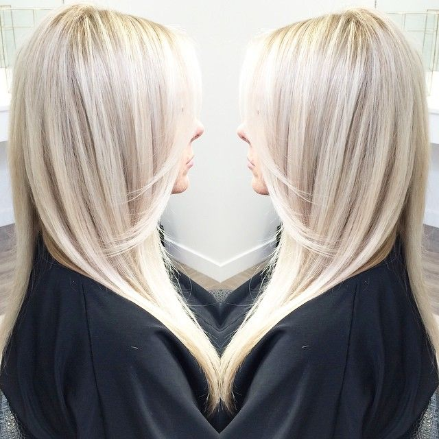 Icy Blonde With Shadowy Highlights Pictures Photos And Images For