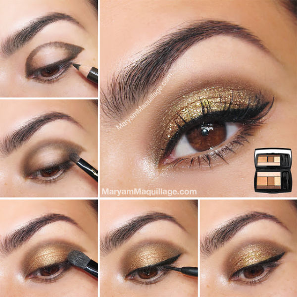 Gold Glitter Eye Shadow Pictures Photos And Images For Facebook