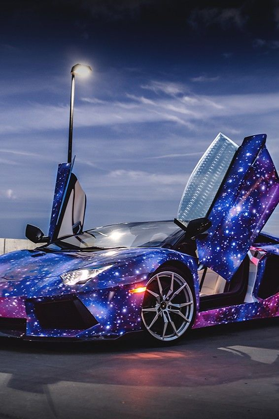 Lamborghini Aventador Galaxy Pictures Photos And Images For