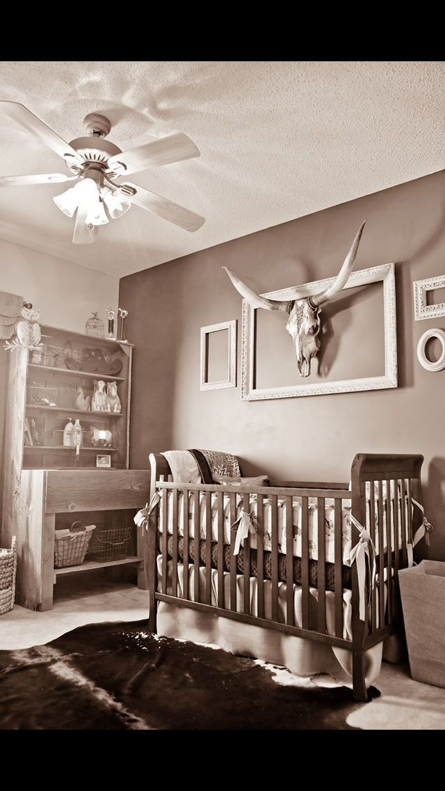 Western Themed Baby Nursery Pictures