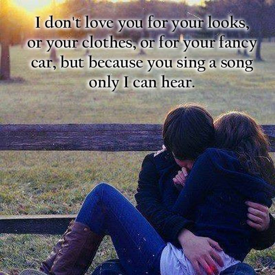 I Love You Because You Sing A Song Only I Can Hear Pictures Photos