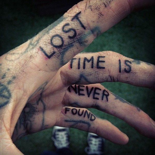 Lost Time Is Never Found Pictures, Photos, And Images For