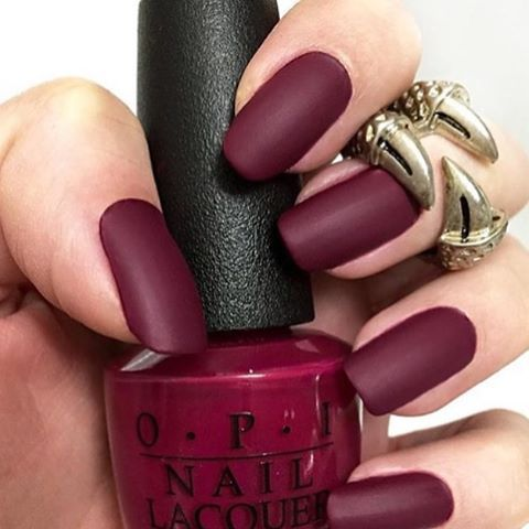 Red Plum Nails And Nail Polish Pictures, Photos, and Images for ...