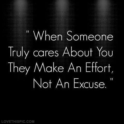 Make An Effort, Not An...