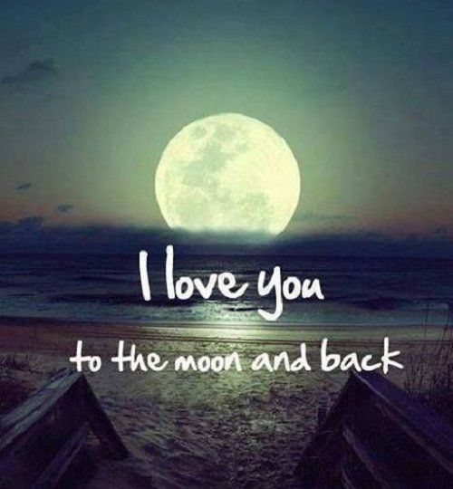 I Love You To The Moon And Back Pictures, Photos, And