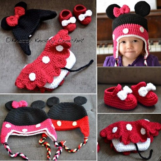 Mickey And Minnie Mouse Crochet Patterns Pictures, Photos ...