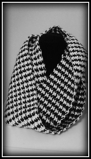 Houndstooth Crochet Scarf Pattern Pictures Photos And Images For